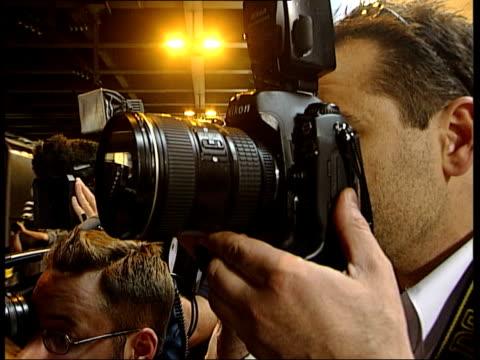 'da vinci code' stars set off for cannes film premiere: stars arrive in cannes; int eurostar train themed for the film 'da vinci code' arriving at... - the da vinci code stock videos & royalty-free footage