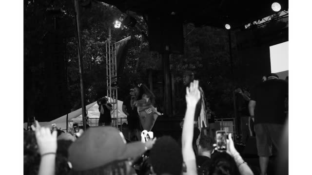 dababy and lizzo at the made in america festival at benjamin franklin parkway on august 31 2019 in philadelphia pennsylvania - benjamin franklin parkway stock-videos und b-roll-filmmaterial