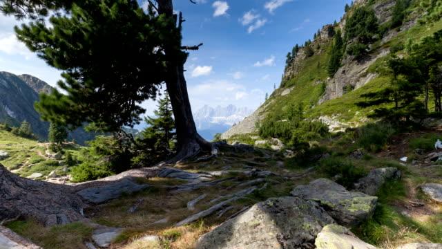Dachstein in Austria; TIME LAPSE