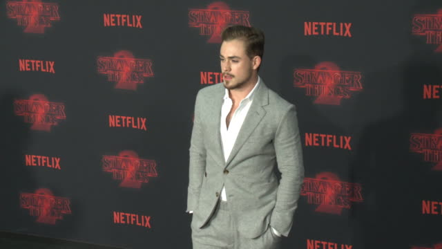 Dacre Montgomery at the Netflix's Stranger Things 2 Premiere at Regency Bruin Theatre on October 26 2017 in Los Angeles California