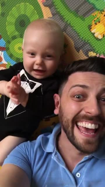 dad and son on a video call at home - wireless technology stock videos & royalty-free footage