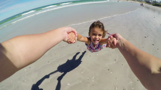 daddy won't ever let you go - wearable camera stock videos & royalty-free footage