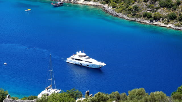 Daily boat tour. Blue voyage. Gemile bay from Oludeniz.
