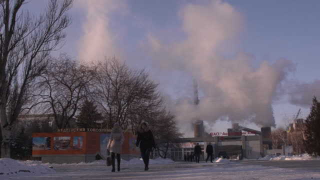 Daily fighting continues to persist in an industrial region of Eastern Ukraine