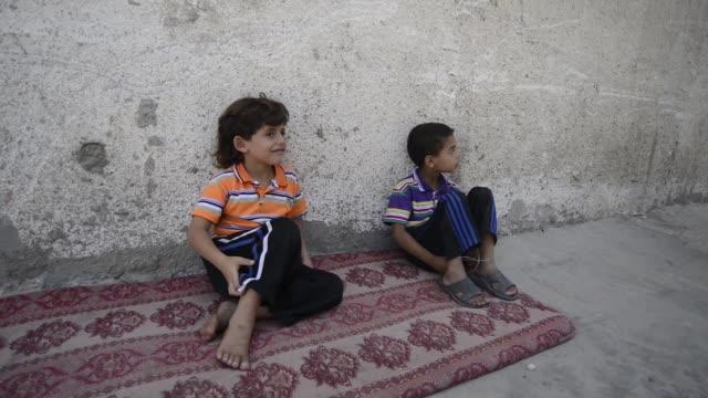 daily life in gaza city - パレスチナ自治区点の映像素材/bロール