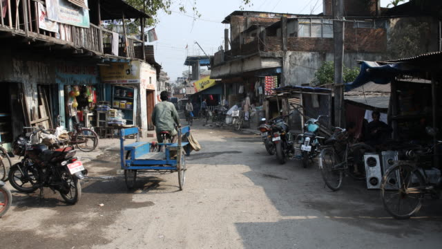 daily life in india in siliguri in darjeeling - rickshaw stock videos and b-roll footage