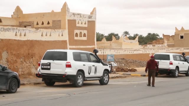 stockvideo's en b-roll-footage met daily life in the central libyan city of ghadames and local reactions to the upcoming un conference which will focus on trying to reach decisions on... - libië