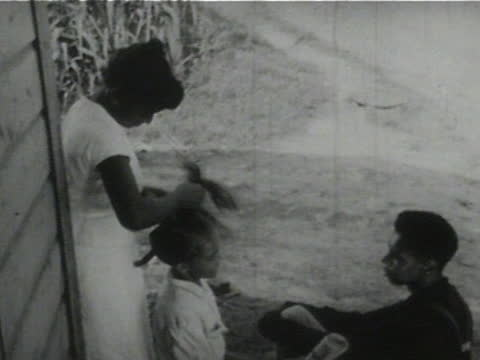 daily life of an african american family in gainesville, georgia, 1950's - 1 of 27 - african american culture stock videos & royalty-free footage