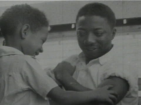 daily life of an african american family in gainesville, georgia, 1950's - 2 of 27 - アメリカ黒人の歴史点の映像素材/bロール