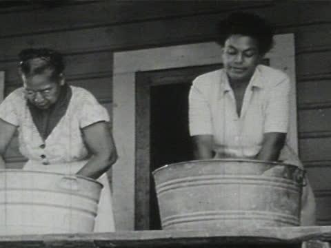 daily life of an african american family in gainesville, georgia, 1950's - 10 of 27 - アメリカ黒人の歴史点の映像素材/bロール