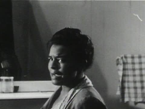 daily life of an african american family in gainesville, georgia, 1950's - 12 of 27 - アメリカ黒人の歴史点の映像素材/bロール