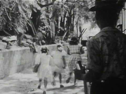 daily life of an african american family in gainesville, georgia, 1950's - 16 of 27 - アメリカ黒人の歴史点の映像素材/bロール