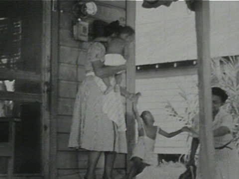 daily life of an african american family in gainesville, georgia, 1950's - 17 of 27 - black history in the us stock videos & royalty-free footage