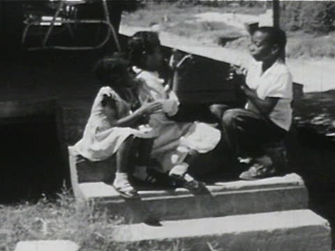daily life of an african american family in gainesville, georgia, 1950's - 19 of 27 - black history in the us stock videos & royalty-free footage