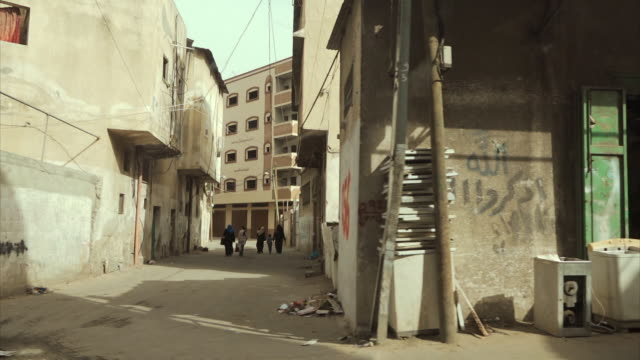 pov of daily life on streets of gaza - gaza strip stock videos & royalty-free footage