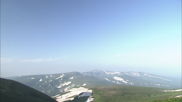 daisetsuzan volcanic group, hokkaid_ - daisetsuzan volcanic group stock videos and b-roll footage