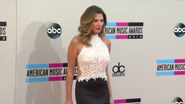 daisy fuentes arrives at the 2013 american music awards arrivals - daisy fuentes stock videos & royalty-free footage