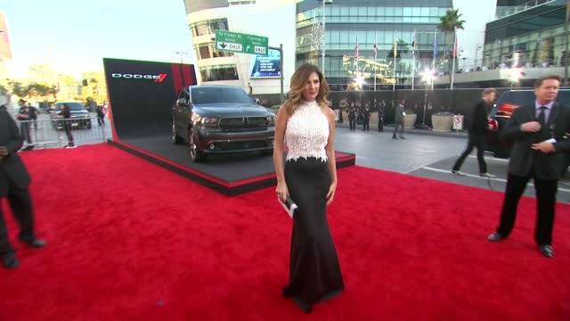 daisy fuentes at 2013 american music awards powered by dodge - daisy fuentes stock videos & royalty-free footage