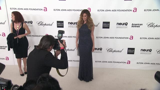 daisy fuentes at elton john aids foundation celebrates 20th annual academy awards viewing party on 2/26/12 in hollywood ca - daisy fuentes stock videos and b-roll footage