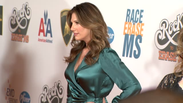 daisy fuentes at the 16th annual race to erase ms themed 'rock to erase ms' at los angeles ca - daisy fuentes stock videos & royalty-free footage