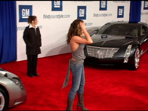 daisy fuentes at the 4th annual 'ten' fashion show presented by general motors arrivals and interviews at pavilion in hollywoodpavilion in hollywood... - daisy fuentes stock videos and b-roll footage