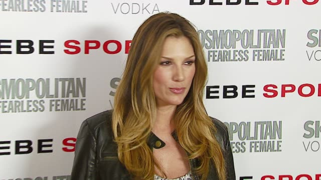 daisy fuentes at the eva longoria debuts as face of bebe sport at skybar in west hollywood, california on march 14, 2007. - daisy fuentes stock videos & royalty-free footage