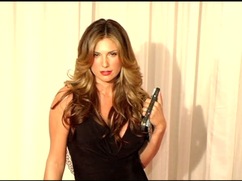 daisy fuentes at the inaugural noche de ninos gala honoring jennifer lopez at the beverly hilton in beverly hills california on october 2 2004 - daisy fuentes stock videos & royalty-free footage