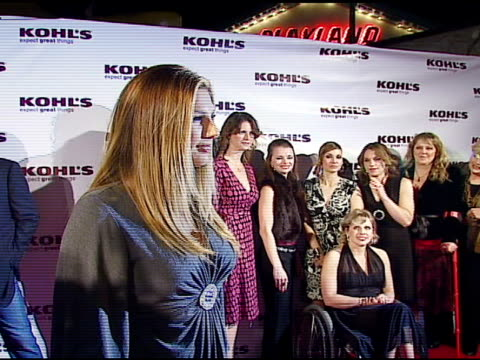 daisy fuentes at the kohl's and conde nast media group present the kohl's transformation nation fall fashion show at santa monica pier in santa... - conde nast media group stock videos & royalty-free footage