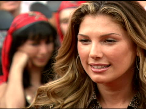 daisy fuentes at the walt disney pictures' 'pirates of the caribbean dead man's chest' world premiere at walt disneyland resort in anaheim california... - daisy fuentes stock videos and b-roll footage