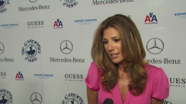 daisy fuentes on being a part of the night what she's most looking forward to her dress at the 32nd anniversary carousel of hope ball at beverly... - daisy fuentes stock videos & royalty-free footage