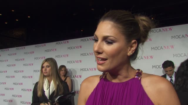 daisy fuentes on why she wanted to be a part of the evening why it's important to support la art institutions what she's most looking forward to... - daisy fuentes stock videos & royalty-free footage