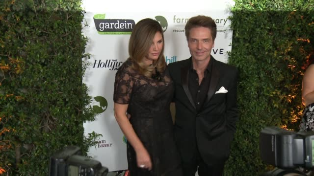 daisy fuentes richard marx at farm sanctuary's 30th anniversary gala in los angeles ca - daisy fuentes stock videos and b-roll footage