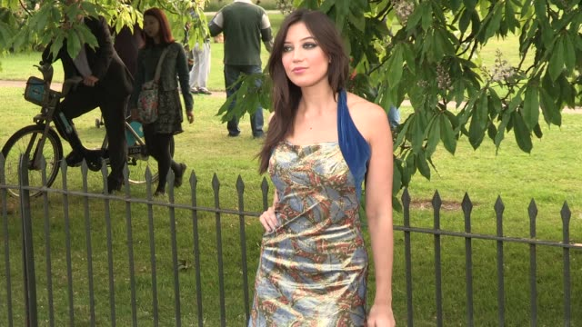 daisy lowe arriving for the summer party at the serpentine gallery on june 26 2013 in london england - the serpentine gallery stock videos & royalty-free footage