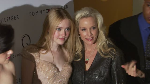 Dakota Fanning and Cherie Currie at the 'The Runaways' New York Premiere at New York NY