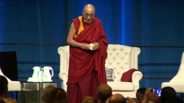 dalai lama celebrates 80th birthday in irvine on july 6, 2015. - university of california stock videos & royalty-free footage