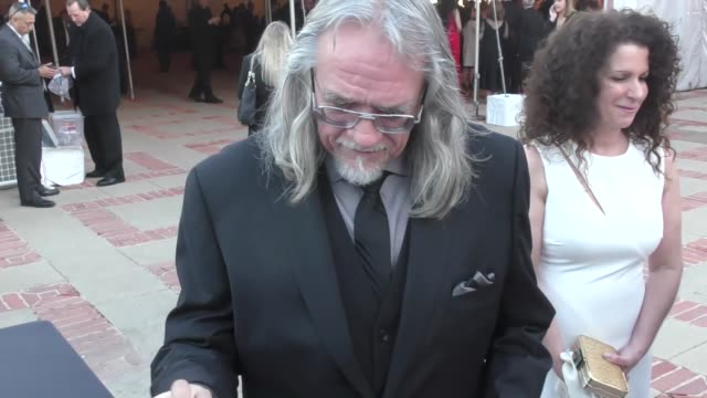 Dale Baer drawing WinniethePooh for fans at the 2017 Annie Awards at Royce Hall at UCLA in Westwood at Celebrity Sightings in Los Angeles on February...