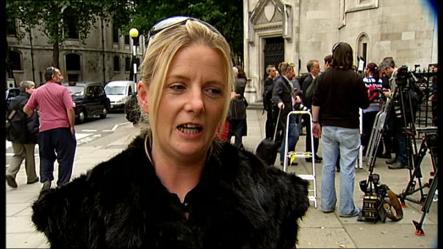 Dale Farm travellers lose legal battle to stop eviction ENGLAND London The High Court EXT Norah Sheridan interview SOT Vanessa Redgrave interview SOT...