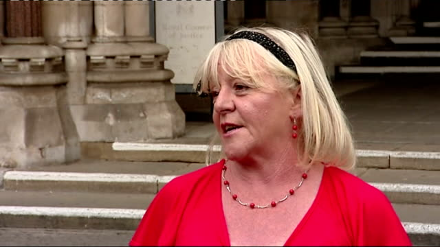 dale farm travellers' site eviction travellers lose high court battle kathleen mccarthy interview sot - デールファーム点の映像素材/bロール