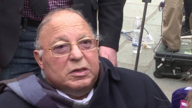 dalil boubakeur the rector of the grand mosque of paris makes an appeal to the muslim community to offer financial support for the reconstruction of... - grand mosque stock videos and b-roll footage