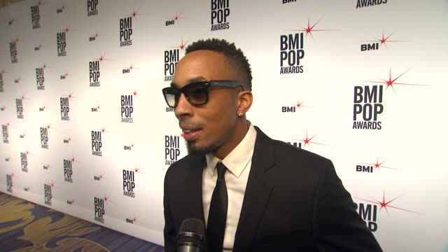 dallas austin on why he wanted to support the bmi pop awards, the first record that inspired him to write music, the song he's written that he is... - songwriter stock videos & royalty-free footage