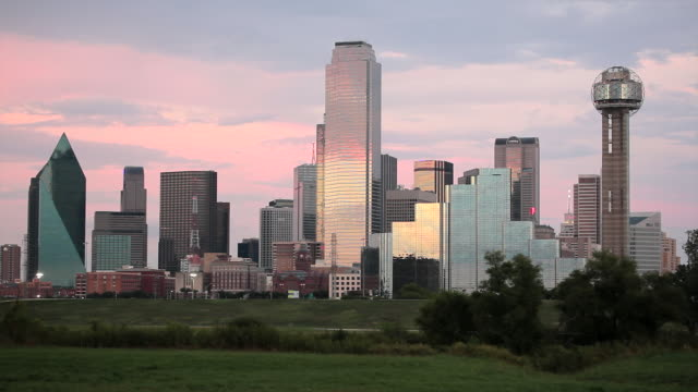 Dallas City Skyline, Dallas, Texas, USA