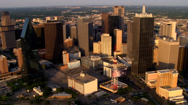 dallas, texas, skyline. shot in 2007. - 2007 stock videos & royalty-free footage