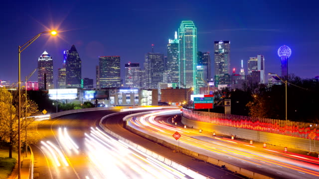 dallas, tx - urban skyline stock videos & royalty-free footage