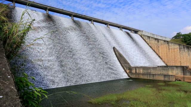 vídeos y material grabado en eventos de stock de dam, loodgates, proveedores de energía - río ottawa
