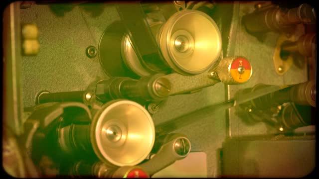 ダメージフィルム4k - サウンドトラック点の映像素材/bロール