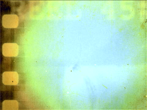 Damaged grunge film intro / background