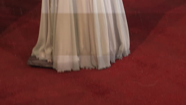 dame helen mirren at ee british academy film awards 2013 red carpet arrivals at the royal opera house on february 10, 2013 in london, england - helen mirren stock videos & royalty-free footage