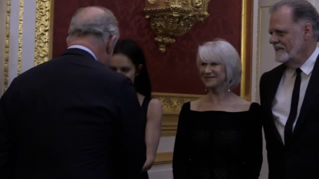 Dame Helen Mirren pop star Cheryl and Sir Tom Jones have joined the Prince of Wales at a glittering reception to recognise young people whom his...