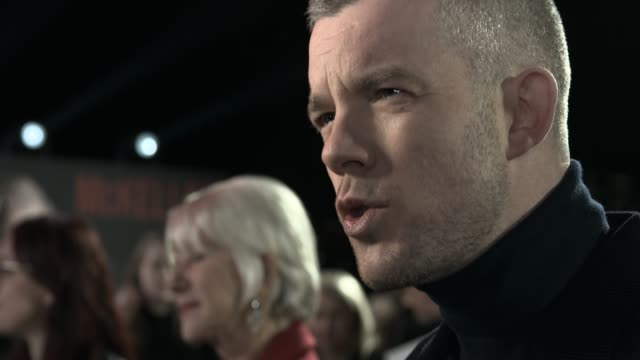 dame helen mirren russell tovey at the good liar world premiere at bfi southbank on october 28 2019 in london england - bfi southbank stock videos & royalty-free footage