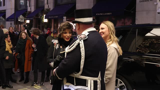 dame joan collins cuts the ribbon to reopen mayfair's burlington arcade on december 5, 2020 in london, england. - cut video transition stock videos & royalty-free footage
